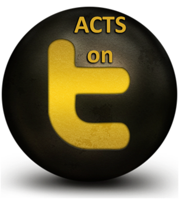 Follow ACTS on Twitter!