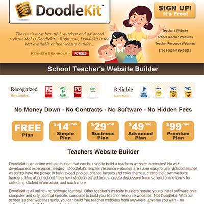 School Teacher Websites