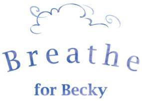 Team Breathe For Becky Logo