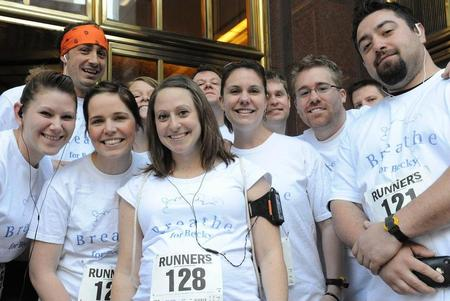 Team Breathe For Becky 2010