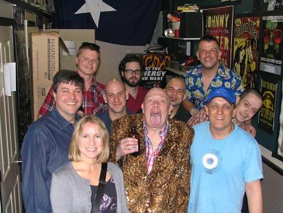 Scott and Lisa with Bad Manners