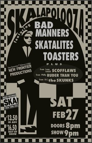 Bad Manners Live at The Ritz poster