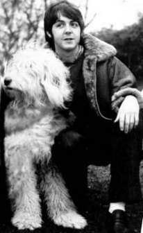 Paul with pup Martha