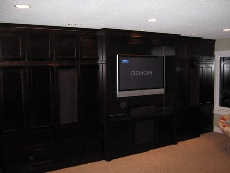 Minneapolis Home Theater Installation in Basement Remodel