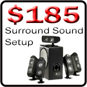 picture of surround sound setup