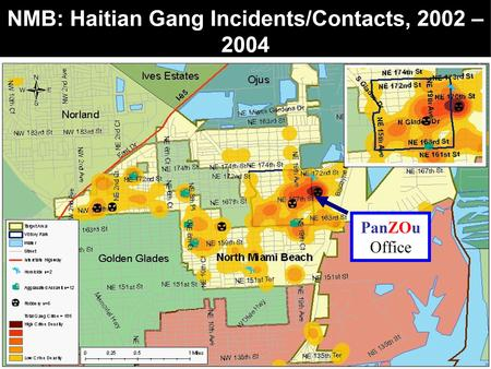 PanZOu Project Outcomes Gang Reduction Program Outcomes - Us gang map
