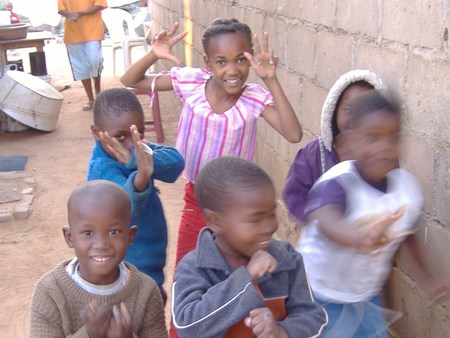 Children in Botswana