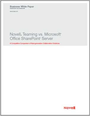 Novell competitive WP