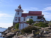 Pointe au Baril Lighthouse from Wiki