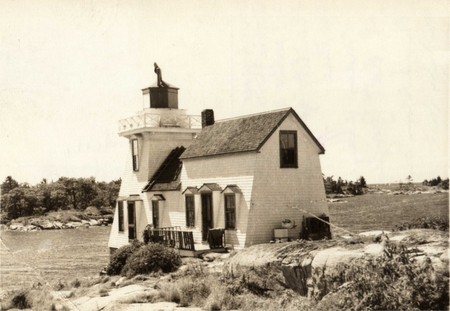 Pointe au Baril Lighthouse about 1920