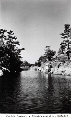 Hemlock Channel - Pointe au Baril