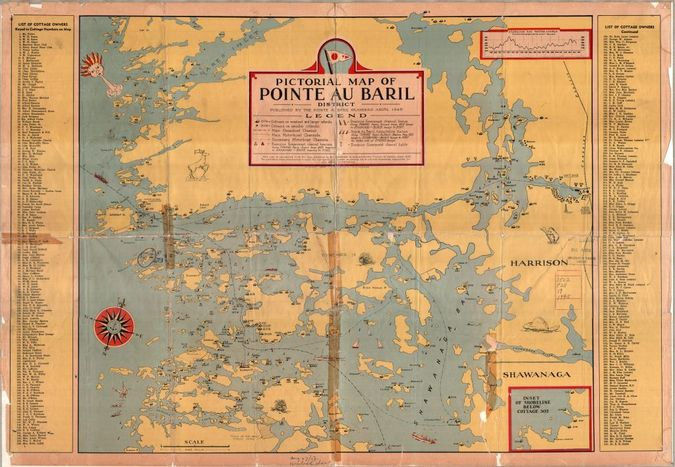 Courtesy of the Pointe au Baril Islanders Association and the Map & Data Library, University of Toronto Download a full size 8.56 MB version ...