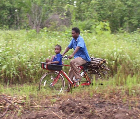 Using bikes to make life better in Ghana, Africa