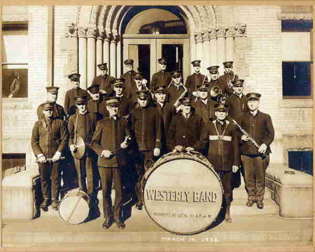 Westerly Band, 1926