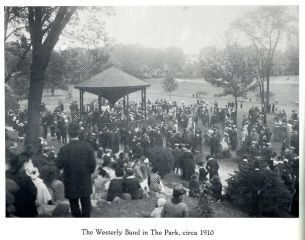 WEsterly Band in Wilcox Park