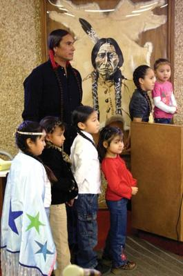 Lakota children in court