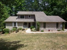Beautiful Lamb Lake waterfront  in move-in cond.Great for full time or weekender!GR w/& 2-story FRPLC & awesome v...